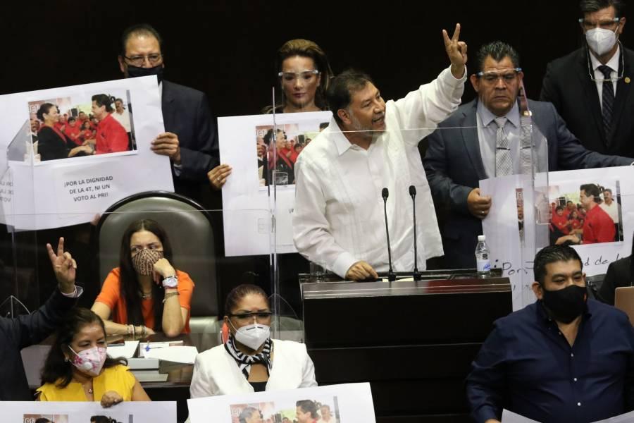 El apoyo al PRI causa ruptura PT-Morena