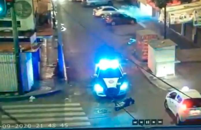 Video: Sujeto es arrollado tras asaltar a un hombre en la CDMX