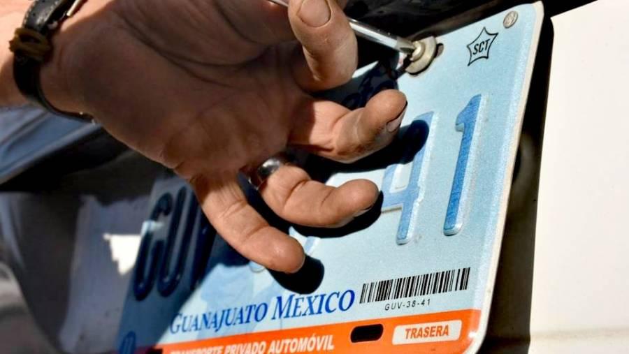Inicia programa de Canje de Placas 2020 de forma gratuita en Guanajuato