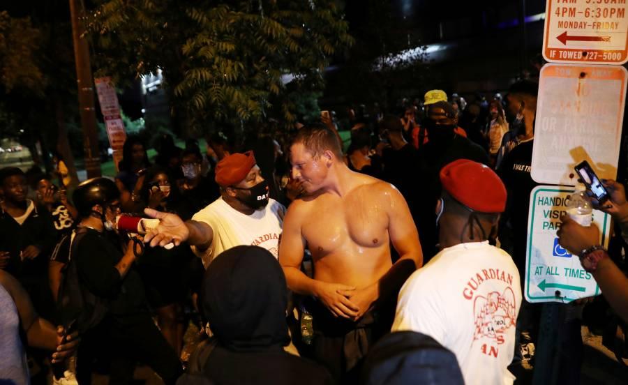 Estallan protestas en Washington  tras asesinato de otro negro