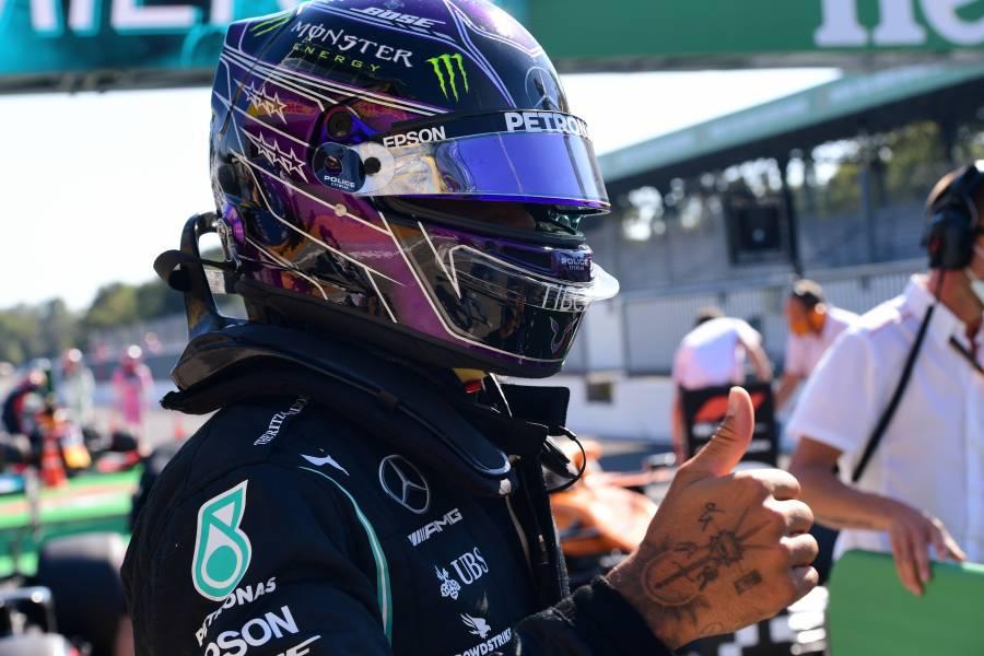 """Hamilton logra la pole position para el GP de Italia; """"Checo"""" saldrá cuarto"""