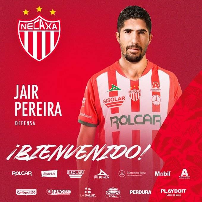 Jair Pereira se une al Necaxa para el Guard1anes 2020