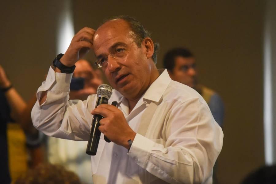 Decisión del INE, no nos detendrá: Calderón