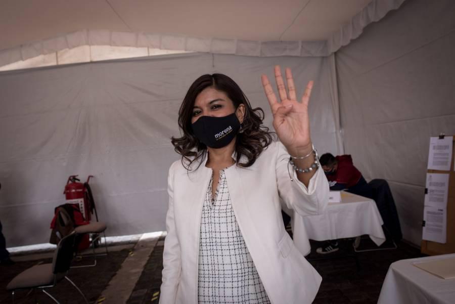 Carol Arriaga lamenta que el INE no vigile la paridad en proceso interno de Morena