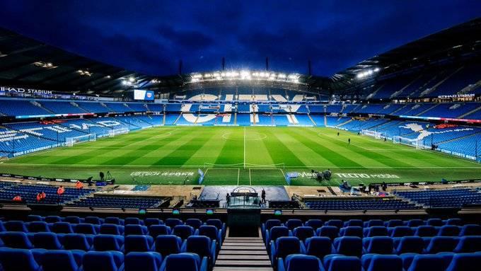 Manchester City reporta dos casos positivos de Covid-19