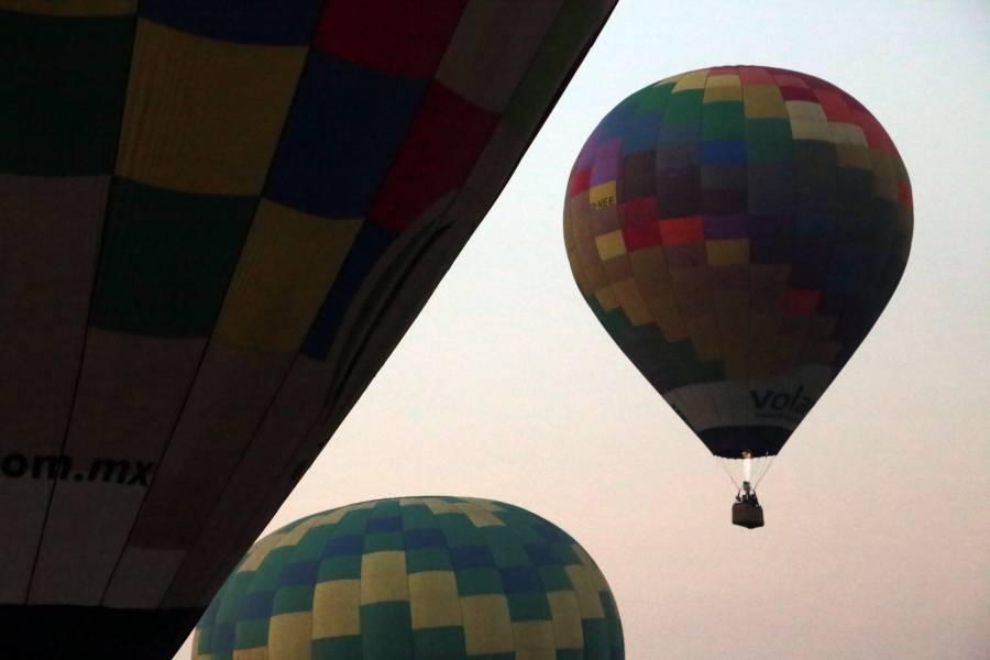 En Teotihuacán, se desplomó un globo aerostático con tres personas abordo