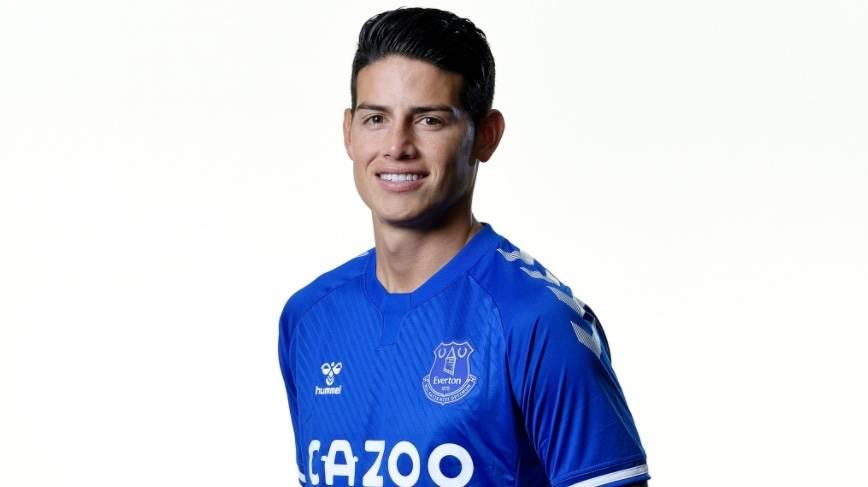 Oficial: James Rodríguez ficha con el Everton