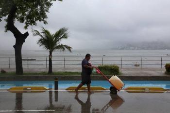 Onda tropical 34 provocará lluvias en Guerrero, Oaxaca y Chiapas