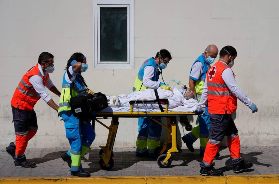 Supera España medio millón  de casos de coronavirus
