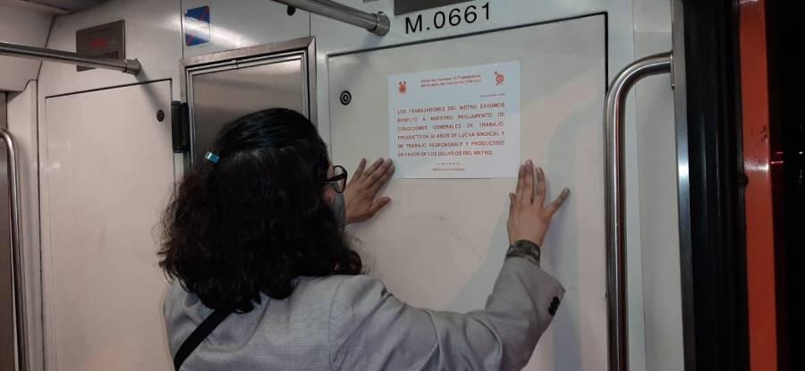 TRABAJADORES DEL STC-METRO ANALIZAN ACCIONES ANTE VIOLACIONES A SUS DERECHOS LABORALES