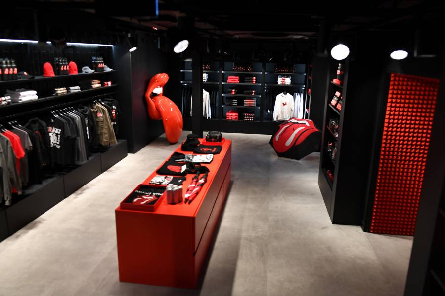The Rolling Stones abren tienda en Londres pese a pandemia