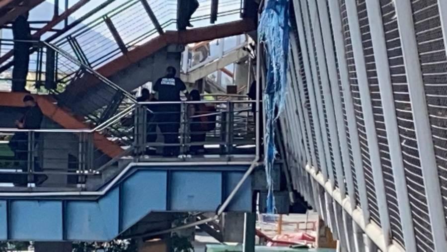 Disparan a hombre en escaleras del Metro Río de los Remedios