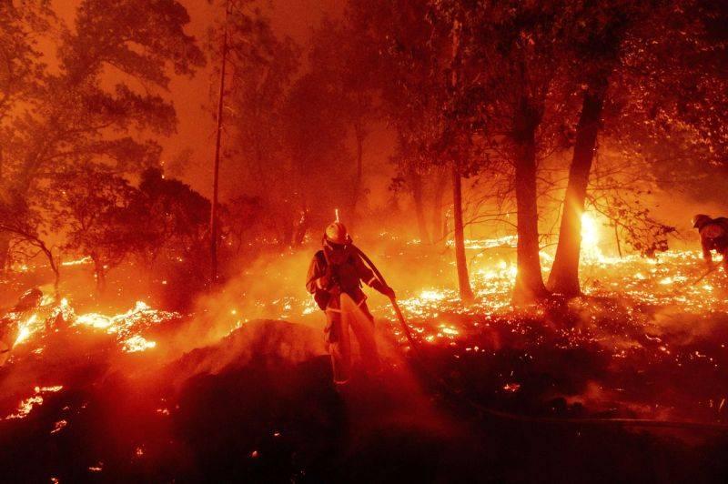 California presenta su segunda oleada de incendios