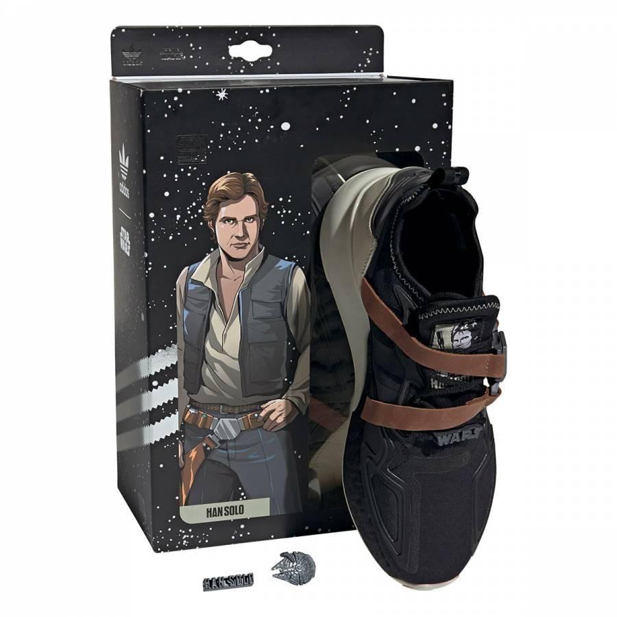 Lanza Adidas tenis inspirados en Han Solo de