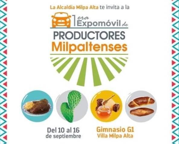SEDECO y Milpa Alta anuncian primera Expomóvil de Productores Milpatenses