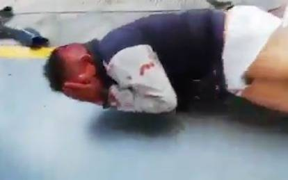 Justicieros ciudadanos capturan a ladrón en los Reyes, La Paz y propinan golpiza