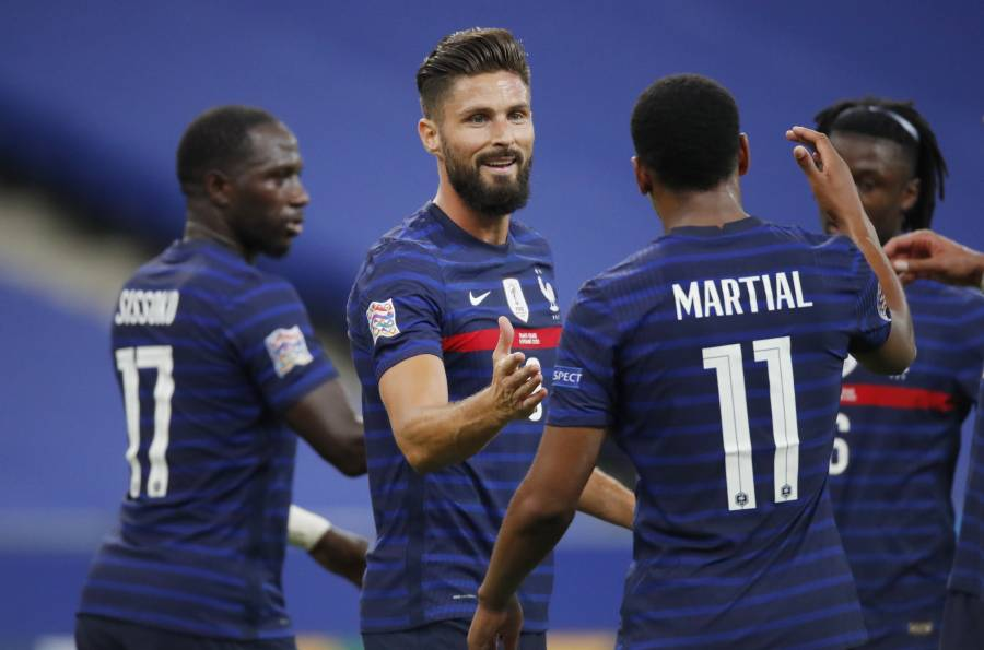 Francia vence a Croacia y se mantiene firme en la Nations League