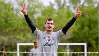 Nahuel Guzmán regresa a los entrenamientos con los Tigres
