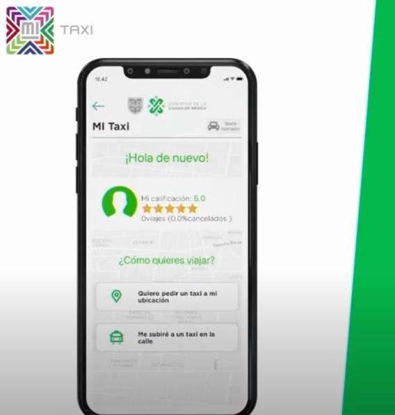Presentan app para solicitar taxis en la CDMX