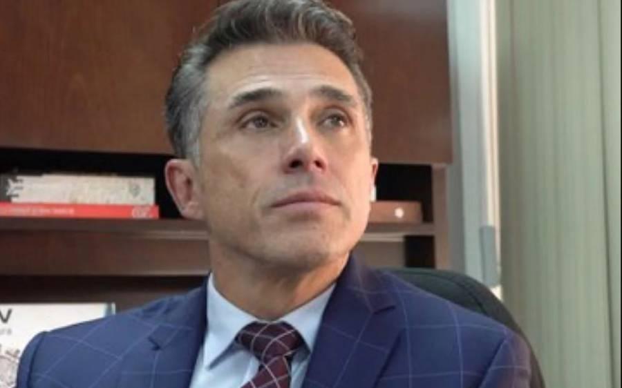 Sergio Mayer advierte consecuencias a quien difunda imágenes de la muerte de Xavier Ortiz
