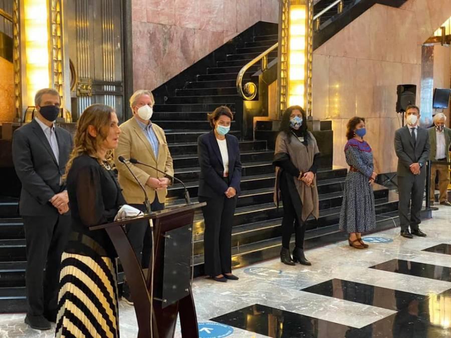 Beatriz Gutiérrez inaugura exposición de Modigliani en Bellas Artes