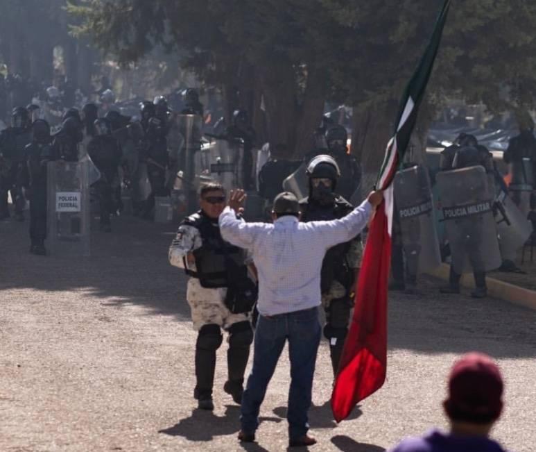 Guardia Nacional asegura que repelió ataque tras muerte de 2 campesinos