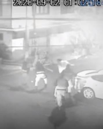 8 policías de Neza golpean a enfermera del IMSS