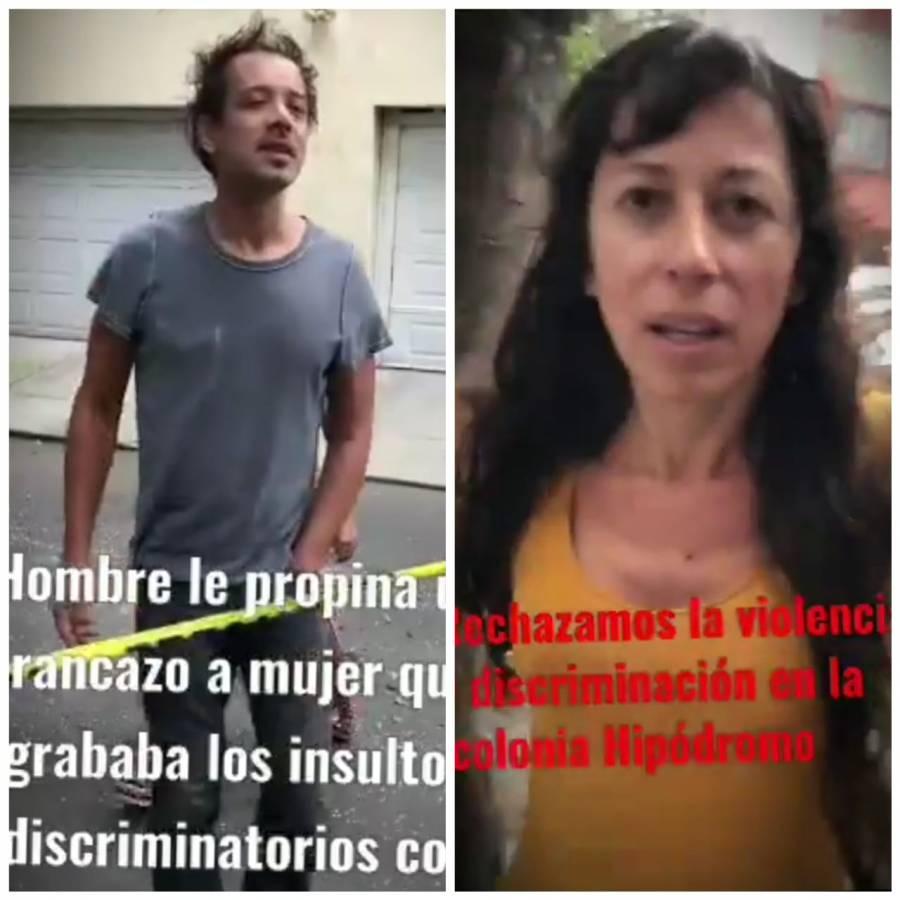 """""""Me das asco, eres una india"""": Argentina agrede a vecina en la Condesa"""
