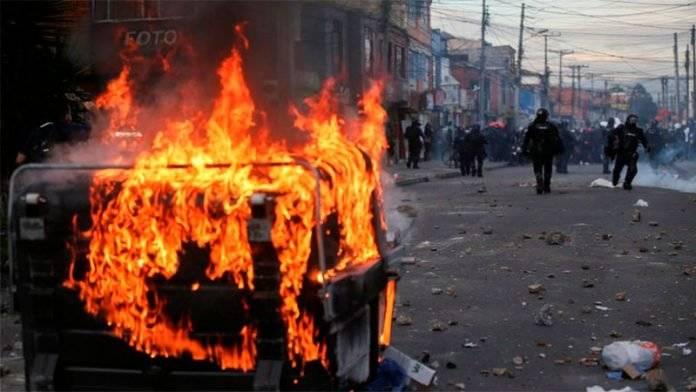 Iván Duque pide calma ante protestas en Colombia