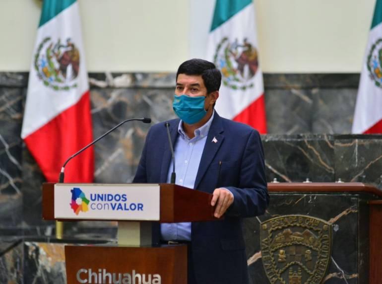 Corral pide a AMLO reubicar a la Guardia Nacional a Ciudad Juárez