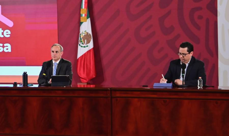 México roza los 40 mil casos  activos estimados: Salud