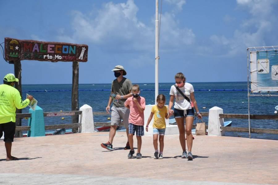 Cae en un 66.6% el turismo en México en el mes de julio