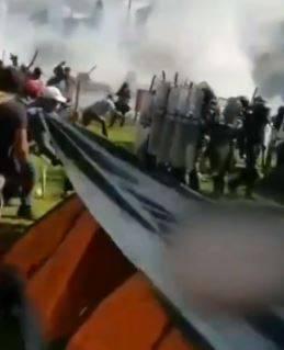 Guardia Nacional entrega a 17 tras enfrentamiento en presa de Chihuahua