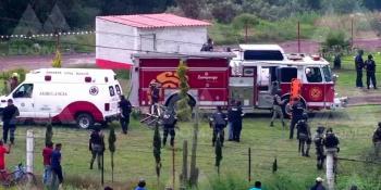 Explosión de polvorín deja cuatro personas lesionadas en Zumpango