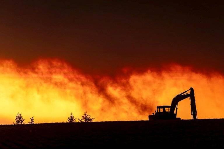 Más de medio millón de personas han sido evacuadas por incendios en Oregon