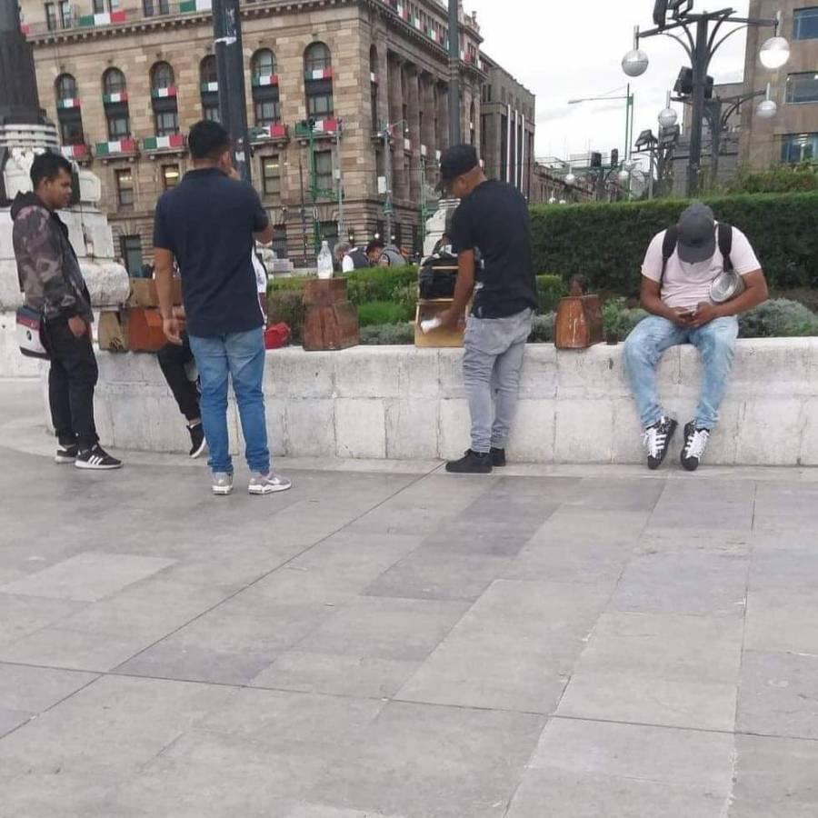 Alameda Central: Detienen a boleros extorsionadores