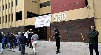 PIDEN QUE SE RETOMEN OBRAS DE RECONSTRUCCIÓN DE OCNDOMINIO AFECTADO POR SISMO DE HACE TRES AÑOS