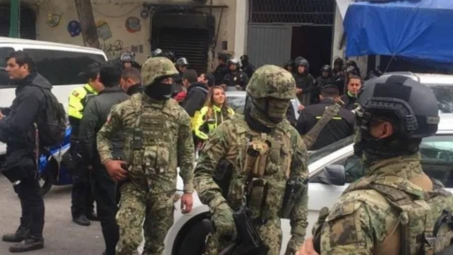 Al menos nueve personas detenidas durante operativo antidrogas en Tepito