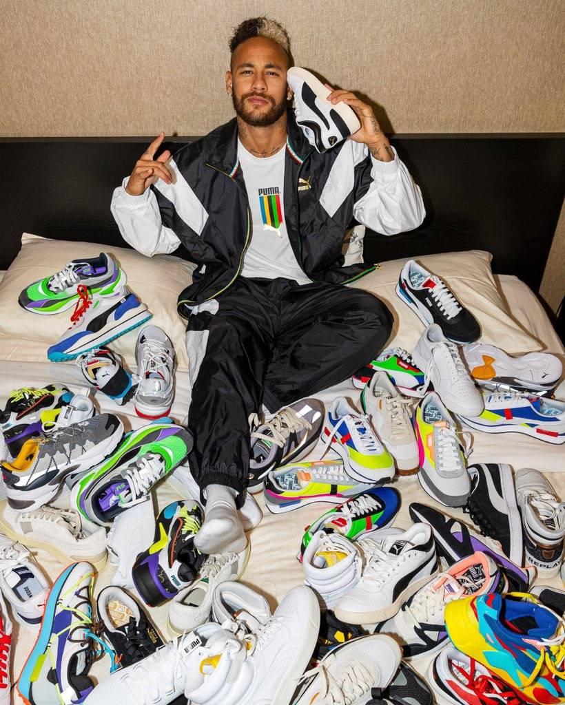 Oficial: Neymar firma con la marca Puma tras dejar Nike
