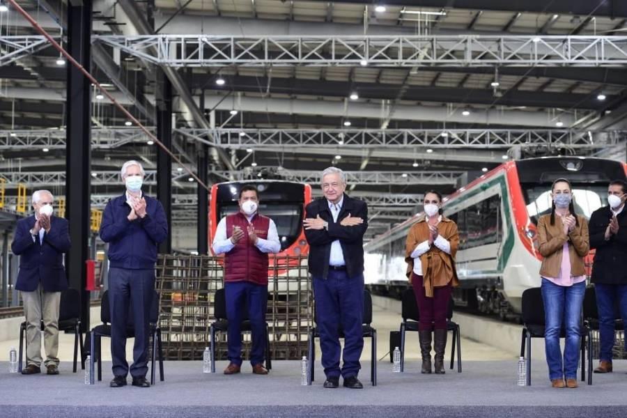 Faltan 9 mmdp más para las obras del Tren Interurbano en CDMX