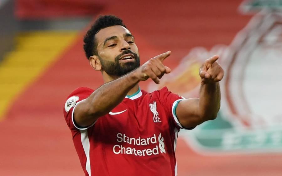 Salah anota tripleta en agonizante triunfo del Liverpool ante Leeds