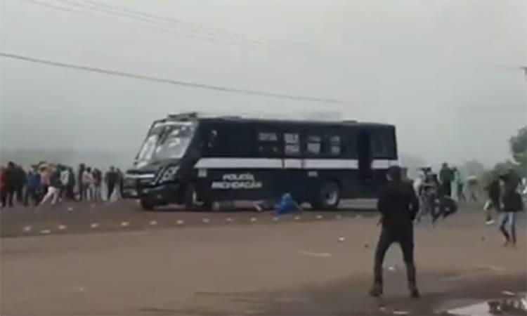 Aumenta a 11 el número de policías lesionados tras enfrentamiento en Tiripetío, Michoacán