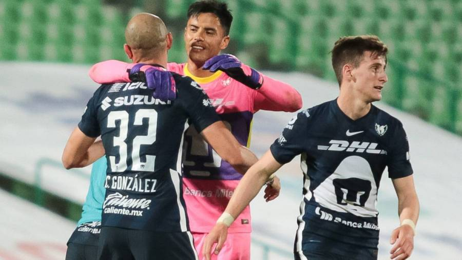Pumas golea al Atlético San Luis y mantiene paso invicto