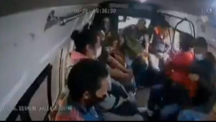 Adolescente implicado en asalto a combi en Naucalpan es vinculado a proceso