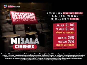 Mentiras recauda 9.2 mdp, Mulán 23 mdd en China y Cinemex renta salas por 700 pesos