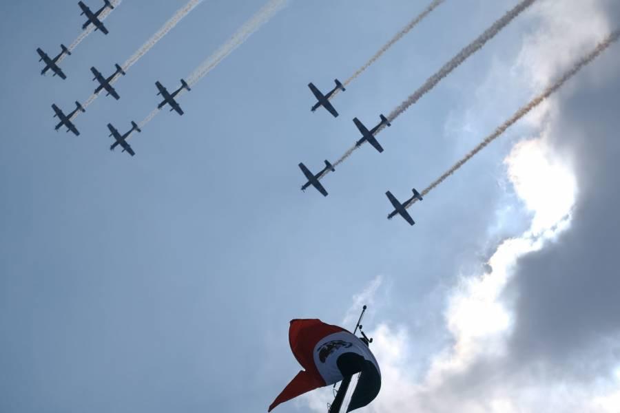 Por Covid-19, estará reducida la exhibición de la Fuerza Aérea Mexicana