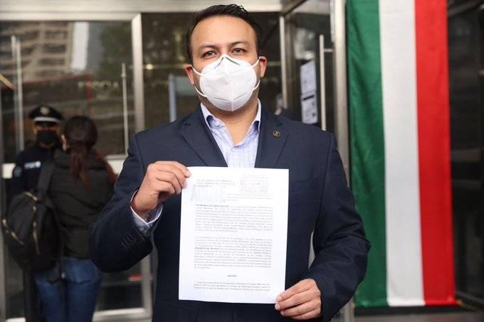 PAN denuncia a AMLO, Alcocer, y López-Gatell ante FGR