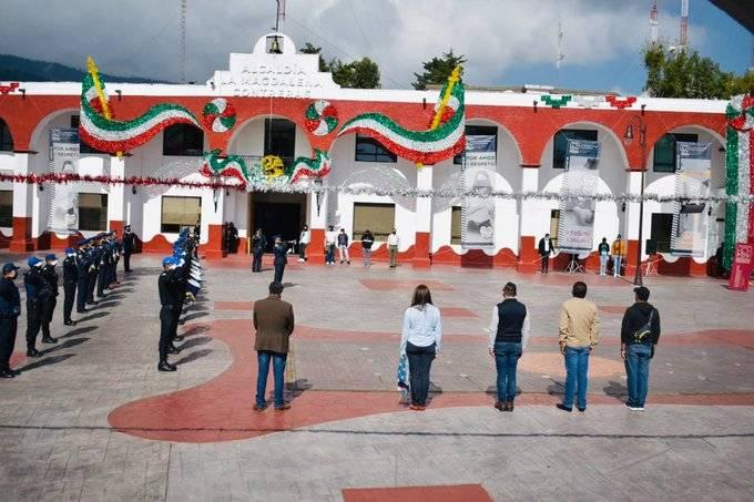 Celebraciones de Fiestas Patrias en Magdalena Contreras desde casa