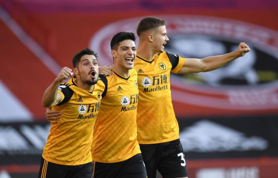 Jiménez anota en el triunfo del Wolverhampton sobre el Sheffield