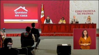 México inicia la semana con 36 mil 616 casos activos de Covid-19